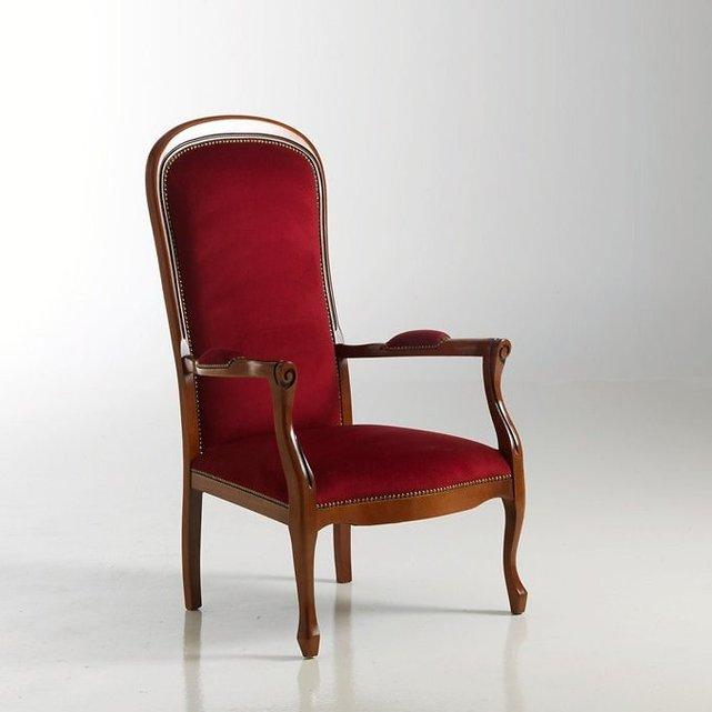Πολυθρόνα με βελούδινο κάθισμα Mιa