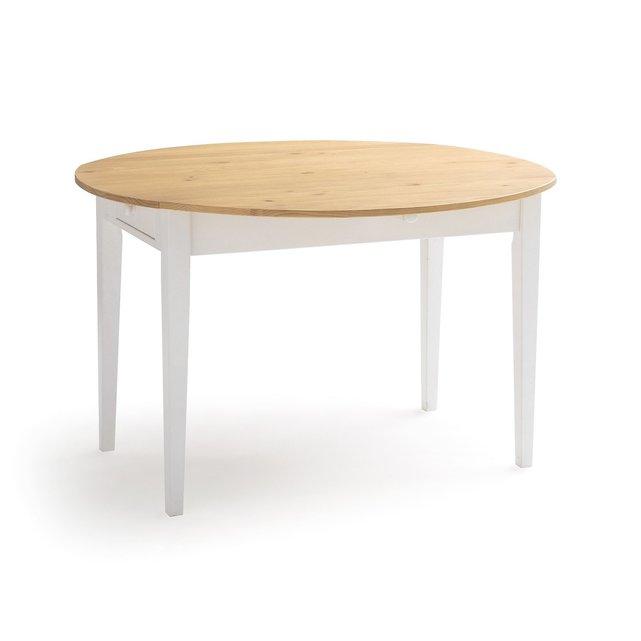 Επεκτεινόμενο τραπέζι με 2 συρτάρια ALVINA