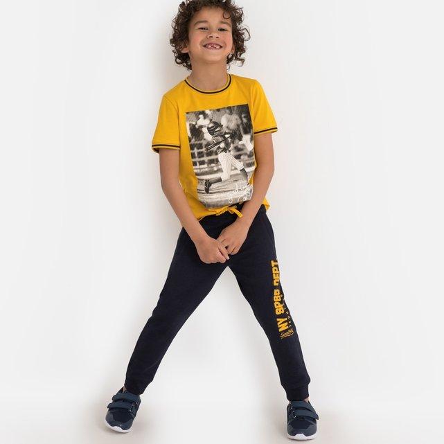 Παντελόνι φόρμας από φανέλα, 3-12 ετών