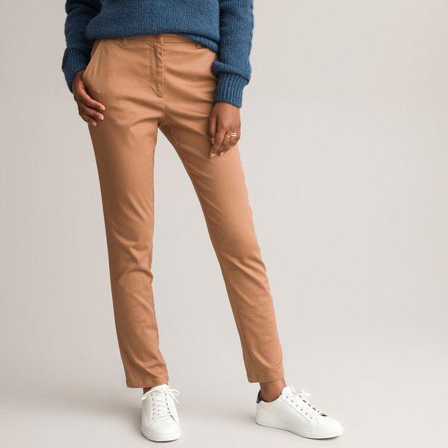 Ίσιο παντελόνι από στρετς σερζ