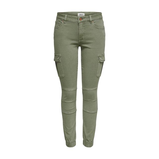 Πεντάτσεπο slim παντελόνι με τσέπες στα μπατζάκια