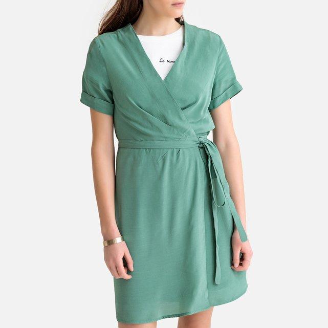 Κοντομάνικο φόρεμα-φάκελος