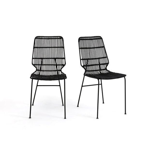 Σετ από 2 καρέκλες Malu, πλέγμα Kubu