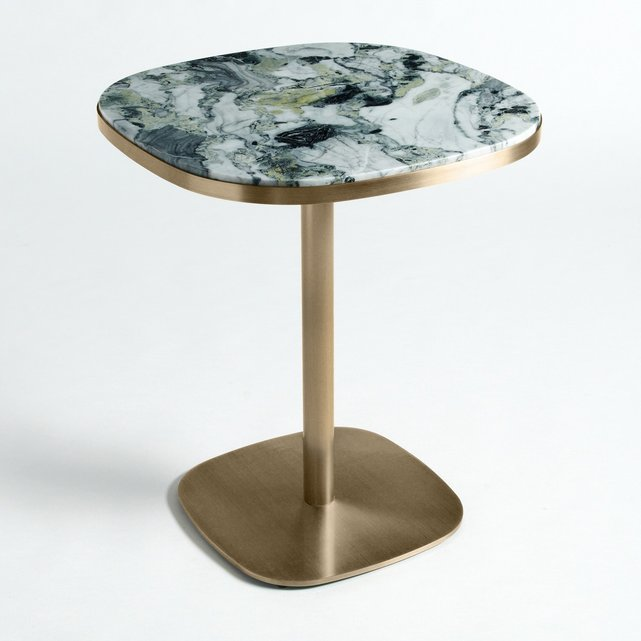 Τραπέζι από μάρμαρο και μέταλλο Lixfeld (2 ατόμων)