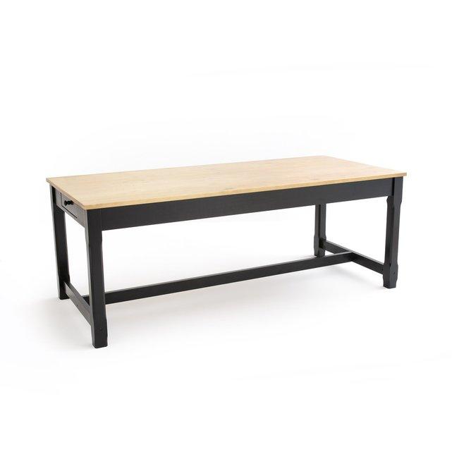 Τραπέζι ρουστίκ Perrine, μήκους 200 εκ.