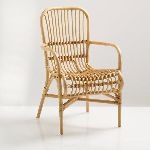 Καρέκλα Malu από ζαχαροκάλαμο ρατάν