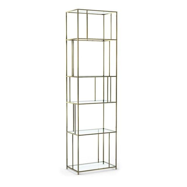 Βιβλιοθήκη Parallel από γυαλί και μέταλλο