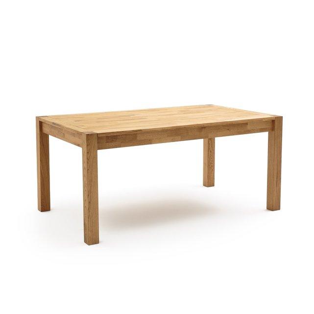 Τραπέζι από μασίφ βελανιδιά 6-12 ατόμων ADELITA