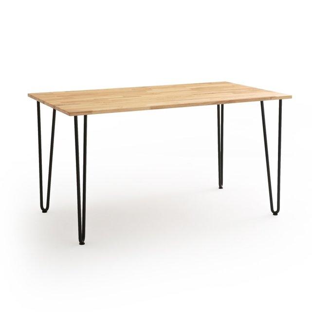 Τραπέζι από μασίφ βελανιδιά 4-6 ατόμων ADZA