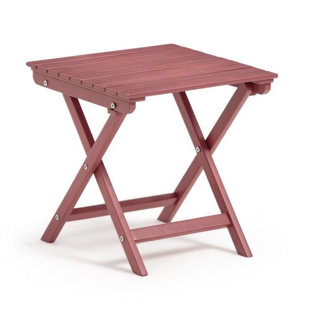 Αναδιπλούμενο τραπέζι από ακακία