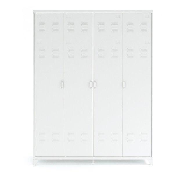 Hiba μεταλλική τετράφυλλη ντουλάπα