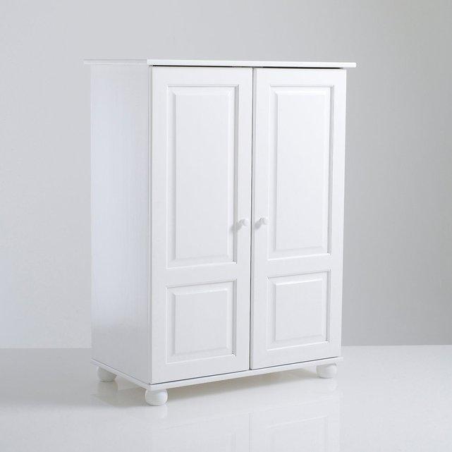 Redmond ντουλάπα, μασίφ ξύλο πεύκου, ύψος 120εκ.