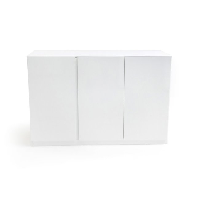 LEO Τρίφυλλη χαμηλή ντουλάπα με συρτάρια