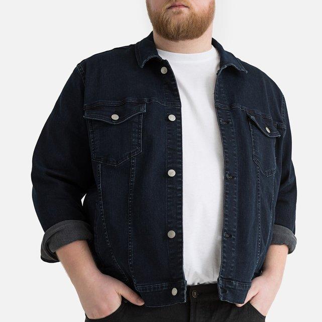 Τζιν μπουφάν για μεγάλα μεγέθη