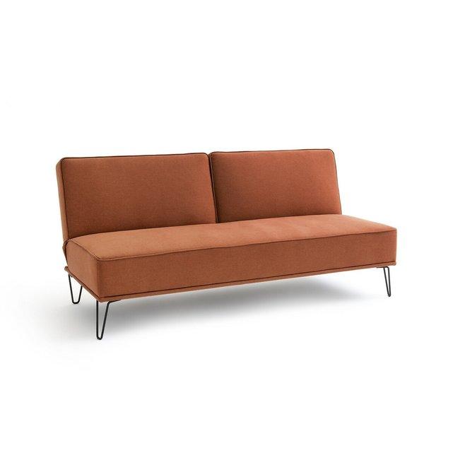 Καναπές κρεβάτι, από πολυεστέρα, VEES