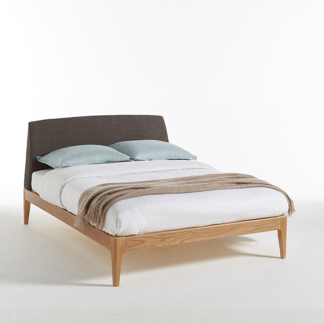 Κρεβάτι από μασίφ ξύλο μελιάς Agura