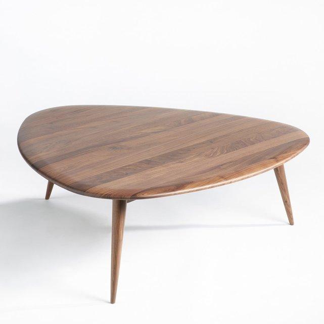 Μεγάλο τραπέζι σαλονιού από καρυδιά, THEOLEINE