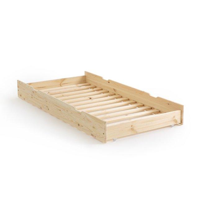 Συρτάρι κρεβατιού από μασίφ πεύκο, Loan