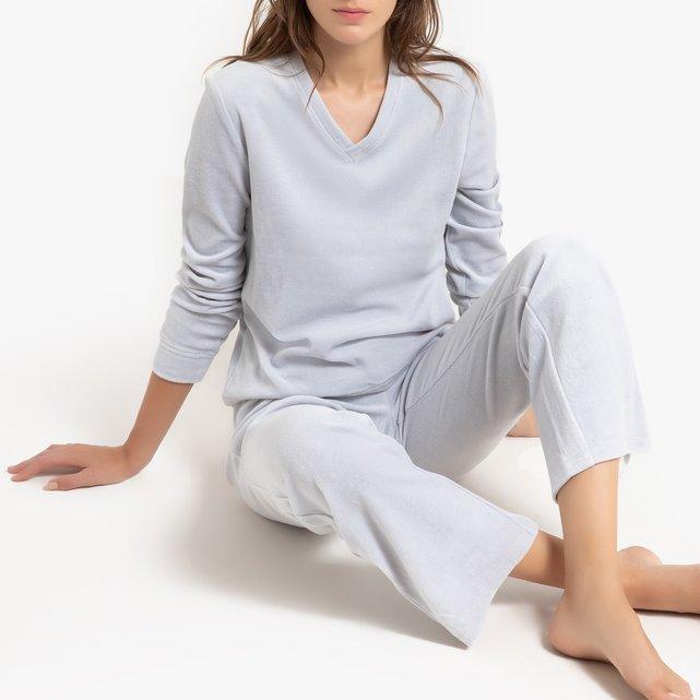 Cotton Rich Velour Pyjamas