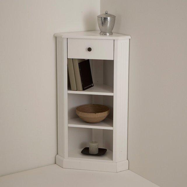 Γωνιακό έπιπλο σε λευκή λάκα, Authentic Style