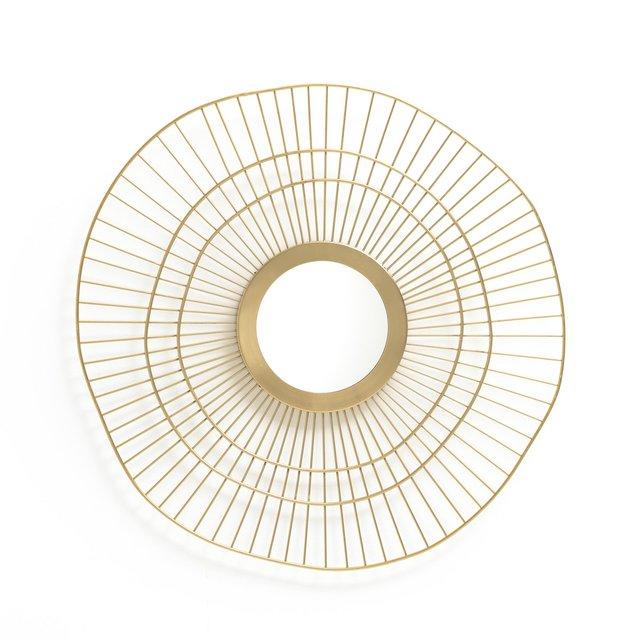 Καθρέφτης σε σχήμα ήλιου, από ορείχαλκο, SPYK