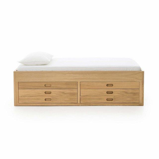 Κρεβάτι από ξύλο δρυ, Octavo