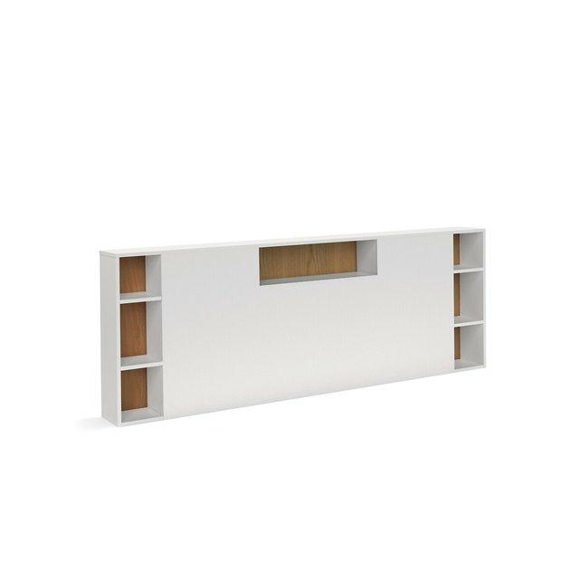 Κεφαλάρι κρεβατιού XL με αποθηκευτικούς χώρους, BIFACE