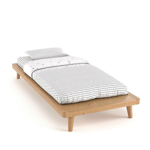 Κρεβάτι + τελάρο με τάβλες + ράφι, Jimi