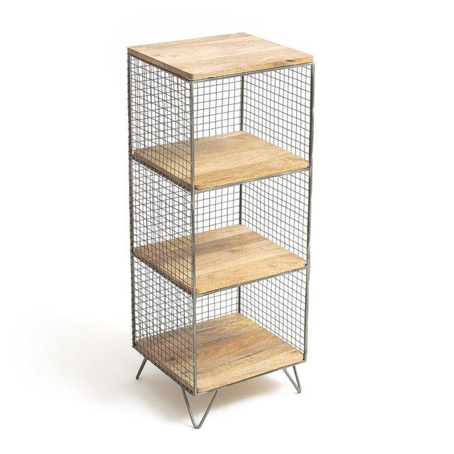 Ραφιέρα από μέταλλο και ξύλο, AREGLO