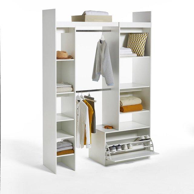 Σύνθεση ντουλάπας με 2 στήλες και 2 ράβδους, Yann