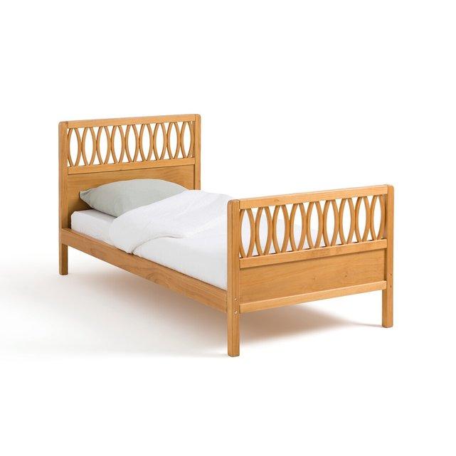 Κρεβάτι vintage + τελάρο με τάβλες, Malu