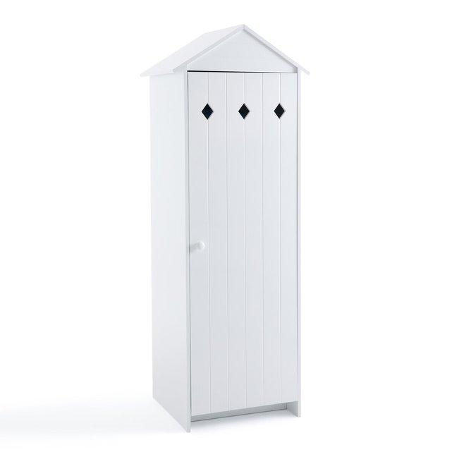 Ντουλάπα με 1 πόρτα από λακαρισμένο MDF, Noa