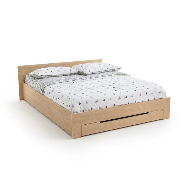 Κρεβάτι με τάβλες + συρτάρι, CRAWLEY