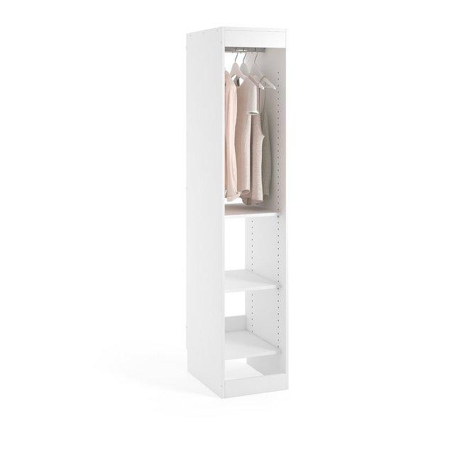 Μονάδα ντουλάπας με ράβδο + 3 ράφια, Build