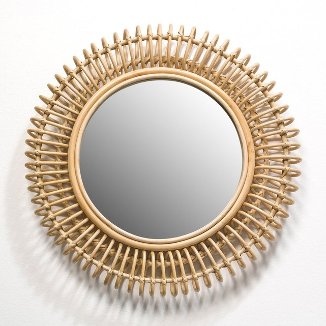 Στρογγυλός καθρέφτης από ρατάν, Tarsile