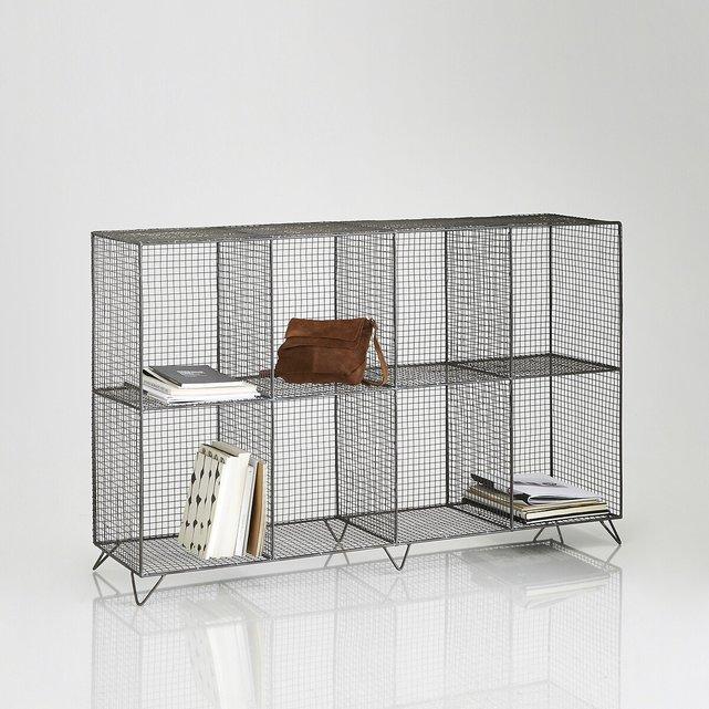 Μεταλλική ραφιέρα δαπέδου με 8 χωρίσματα, AREGLO