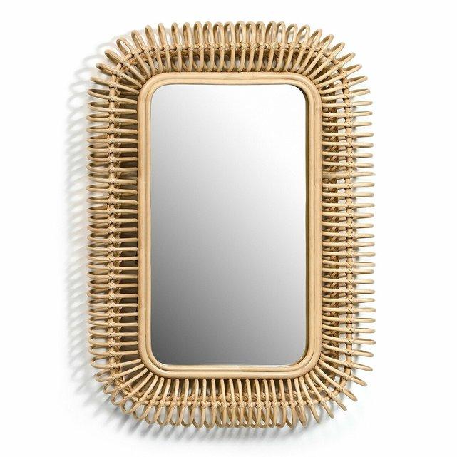 Καθρέφτης από ρατάν Π90 x Υ60 εκ., Tarsile