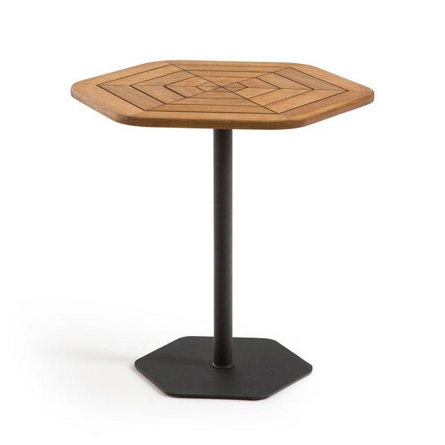 Εξάγωνο τραπέζι κήπου από ξύλο ακακίας FSC*, KAJLAW
