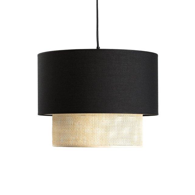 Καπέλο για φωτιστικό οροφής από ψάθα, Dolkie