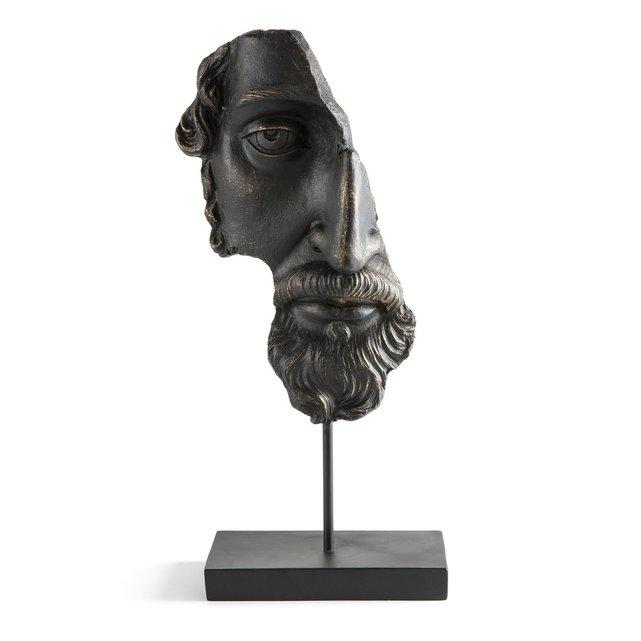 Αγαλματίδιο από ρητίνη σε σχήμα προσώπου, Waraji
