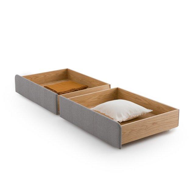 Συρτάρια αποθήκευσης για το κρεβάτι Elori (σετ των 2)