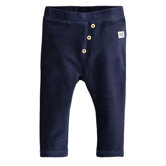 Παντελόνι jogpant από βελούδο, 1 μηνός-3 ετών