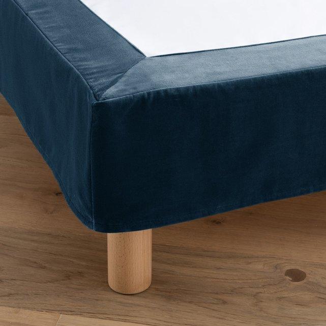 Κάλυμμα βάσης κρεβατιού από βελούδο, Velvet