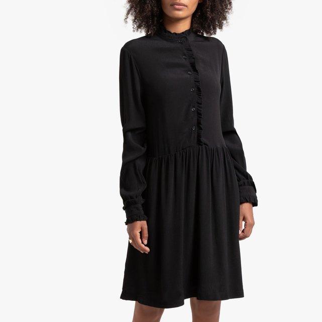 Εβαζέ μακρυμάνικο φόρεμα