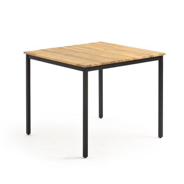 Τετράγωνο τραπέζι κήπου, Hiba