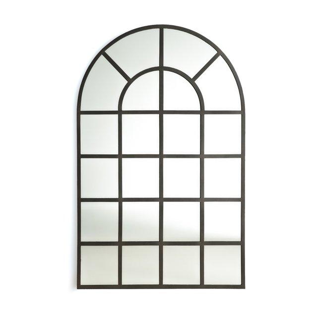 Καθρέφτης βιομηχανικού ντιζάιν σε σχήμα παραθύρου Υ170 εκ., Lenaig