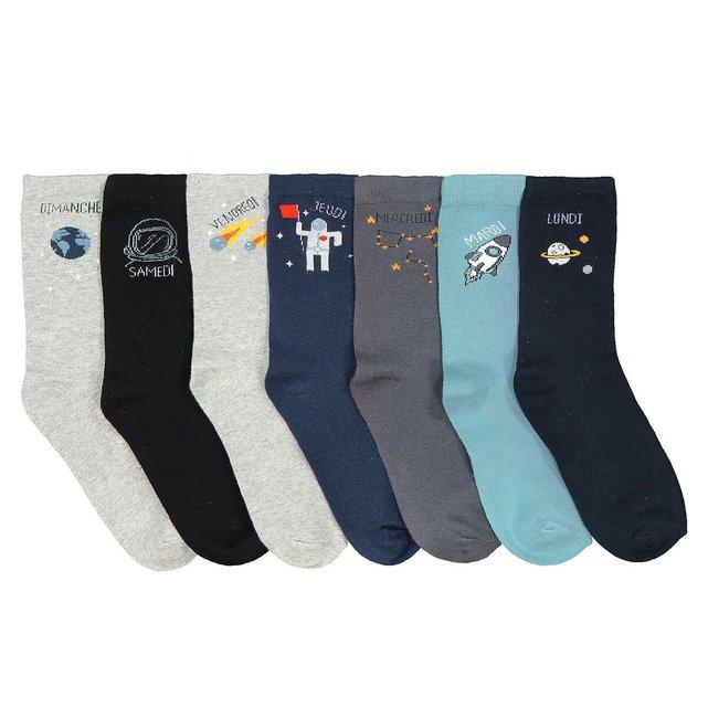 Σετ 7 ζευγάρια μίντι κάλτσες, 23|26 - 35|38
