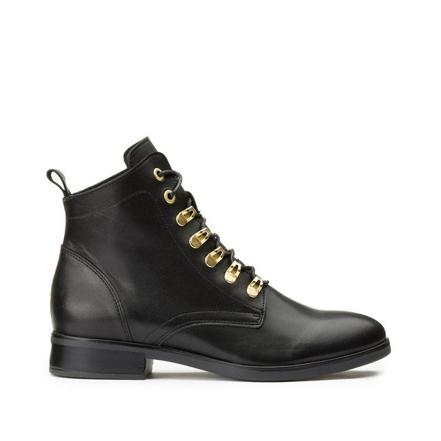 Boots cuir ΰ lacets