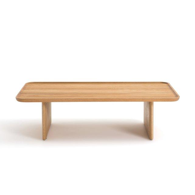 Χαμηλό τραπεζάκι από μασίφ ξύλο δρυ, Medito