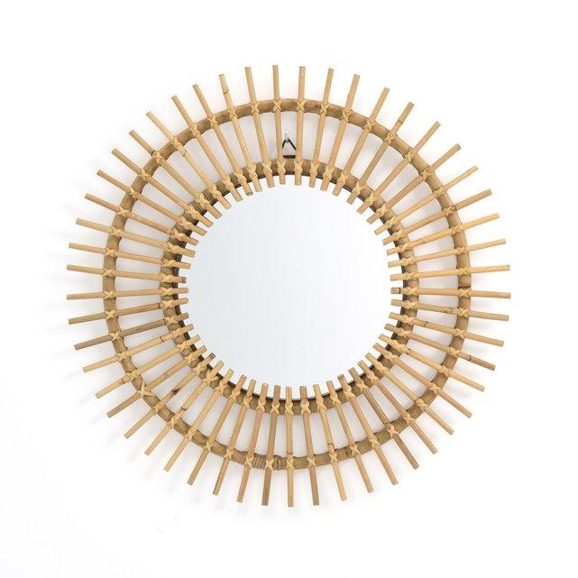 Καθρέφτης από ρατάν σε σχήμα ήλιου Δ60 εκ., Nogu